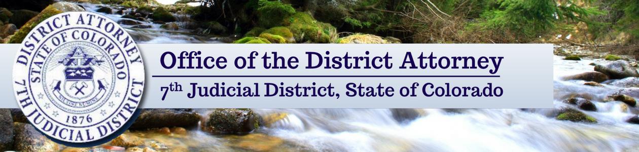 7th Judicial District Attorney Logo