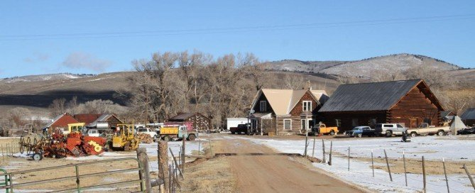 The Rudibaugh family ranch near Parlin. (Will Shoemaker, Gunnison Country Times)
