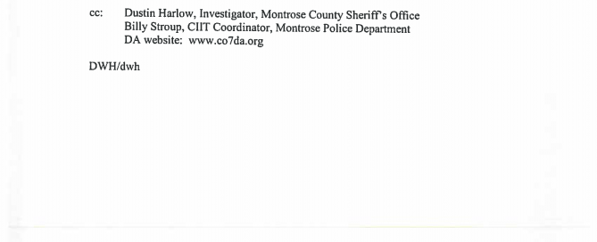 Report on Delta PD Critical Incident Investigation